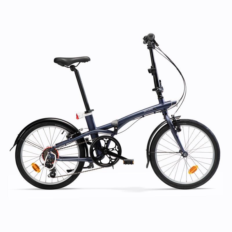 Katlanır Bisiklet - Mavi - TILT 500