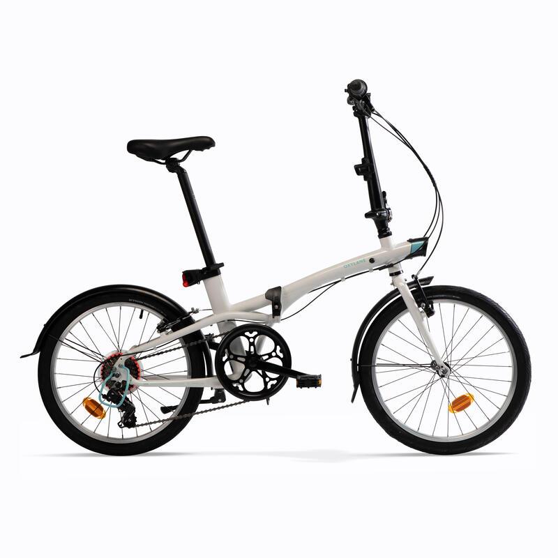 Katlanır Bisiklet - Beyaz - TILT 500