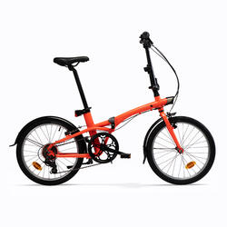 Bici pieghevole TILT 500 arancione fluo
