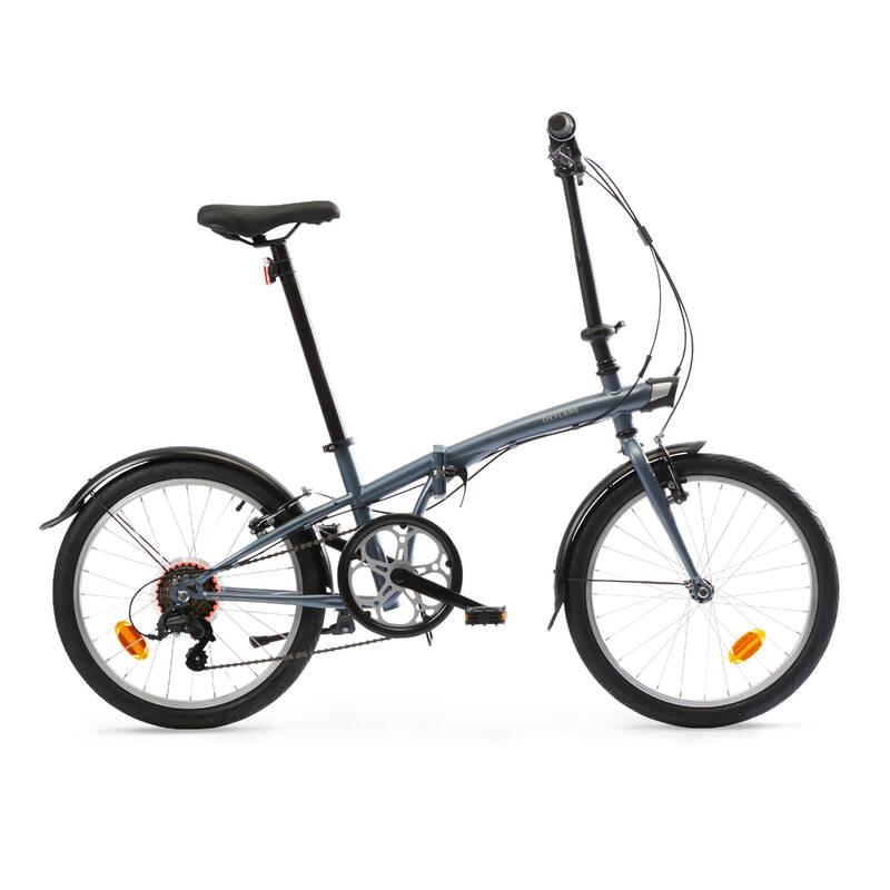 SKLÁDACÍ KOLA Cyklistika - SKLÁDACÍ KOLO OXYLANE120 ŠEDÉ OXYLANE - Jízdní kola