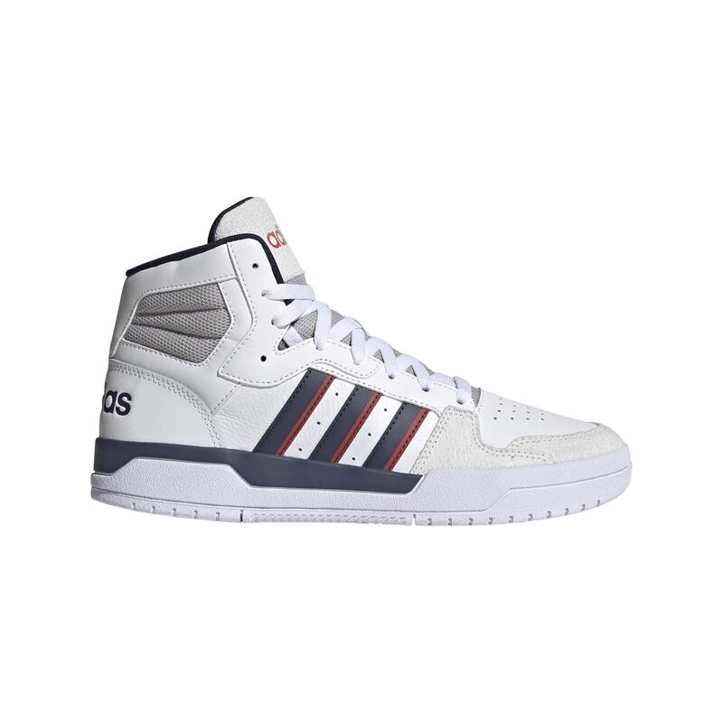 Chaussures marche sportive homme Adidas ENTRAP mid blanche