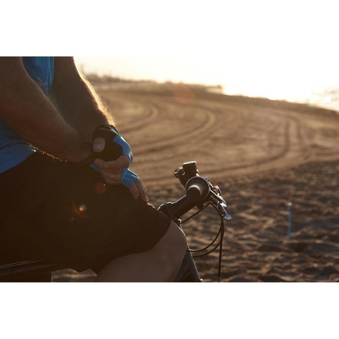 Fietshandschoenen racefiets 500 blauw