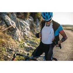 Fahrrad Unterwäsche Rennrad RR 500 Funktionsshirt Ärmellos Herren weiß