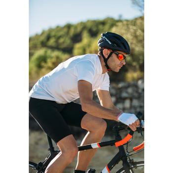CUISSARD VELO ROUTE HOMME SANS BRETELLES ROADCYCLING 100 NOIR - 213312