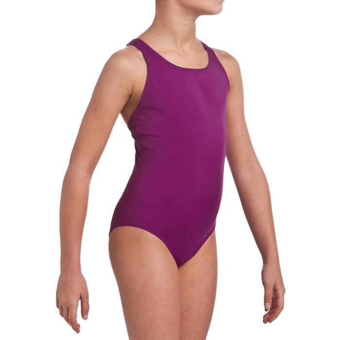 Maillot de bain de natation une pièce fille Leony - 21332