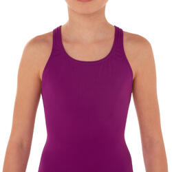 Leony Girls' One-Piece Swimsuit - Purple