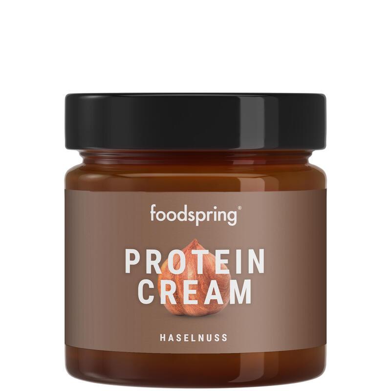 Crema proteica chocolate y avellana Foodspring 200g