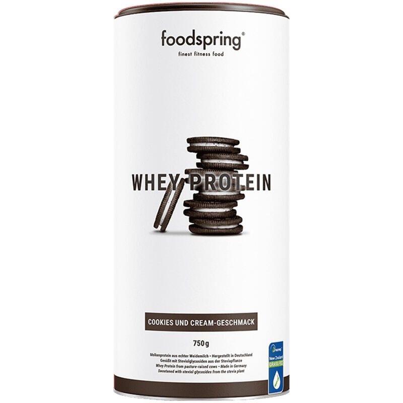 Proteína Whey 23g Cookies and Cream Foodspring 750g