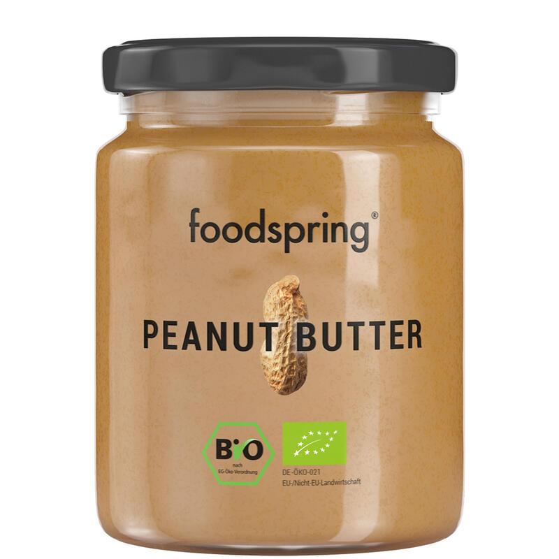 Crema de cacahuete Foodspring 250g