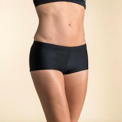 女款平口游泳短褲Vega - 黑色