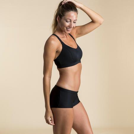 Haut de maillot de bain de natation femme Vega noir