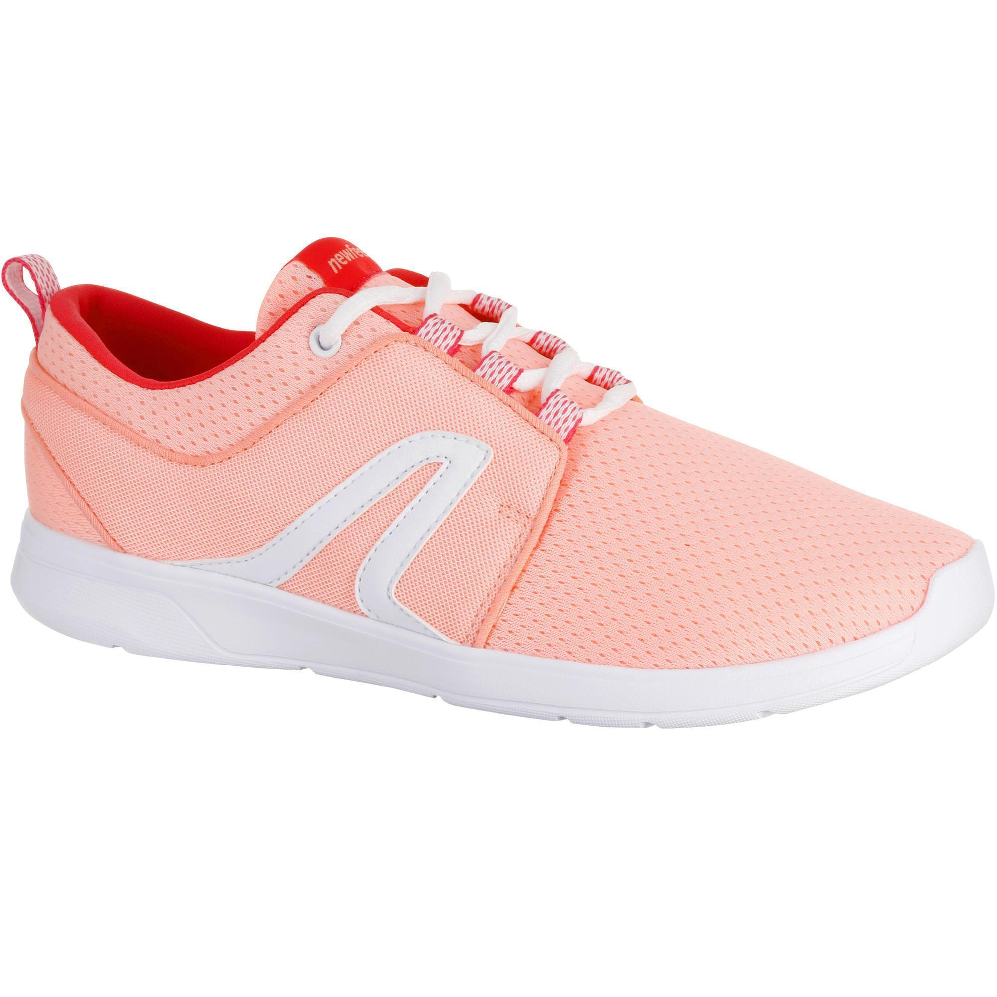 8a5a09bee92 ... chaussures marche sportive femme soft 140 rose newfeel