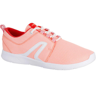 Chaussures marche sportive femme Soft 140 rose