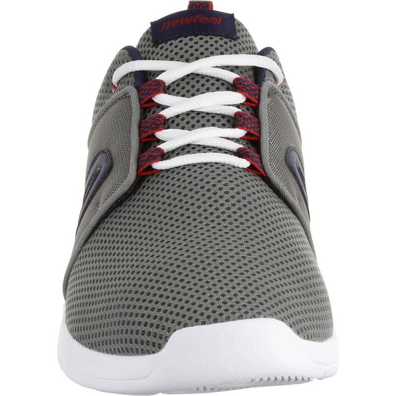 Walking Shoes for Men Soft 140 Mesh - Grey/Blue