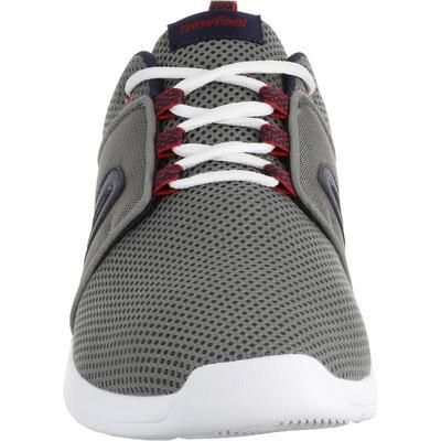 נעלי הליכת כושר לגברים Soft 140 Mesh - אפור/כחול