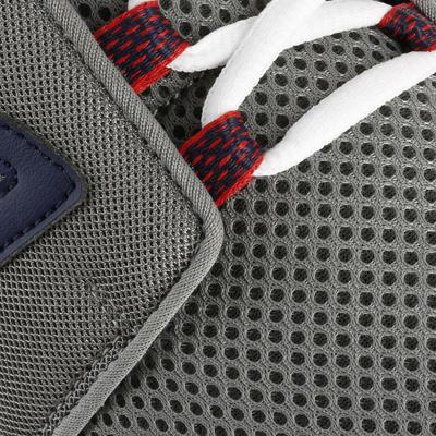 Chaussures marche sportive homme Soft 140 Mesh gris / bleu