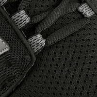 Espadrilles marche sportive femme Soft 140mailles noir