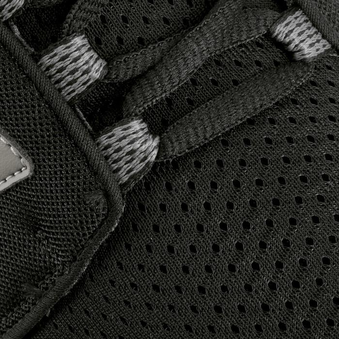 Damessneakers voor sportief wandelen Soft 140 mesh zwart