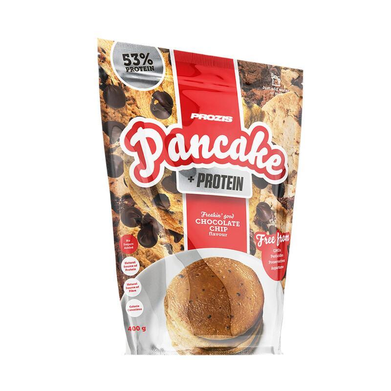 Pancake + Protein - Tortitas de avena con proteína 400 g - Pepitas de Chocolate