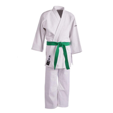 Vaikiška dziudo aikido uniforma 500 – balta