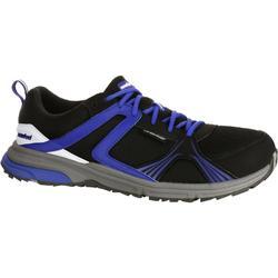 Herensneakers Propulse Walk 380 voor nordic walking zwart/blauw