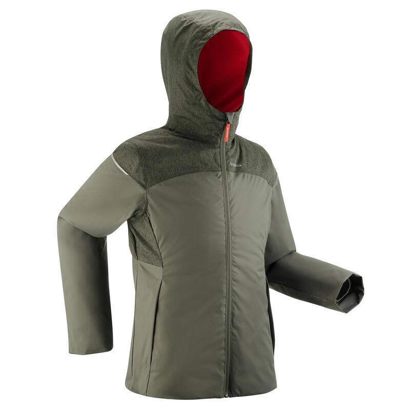 Kids' Waterproof Winter Hiking Jacket SH100 X-Warm 0°C 7-15 Years