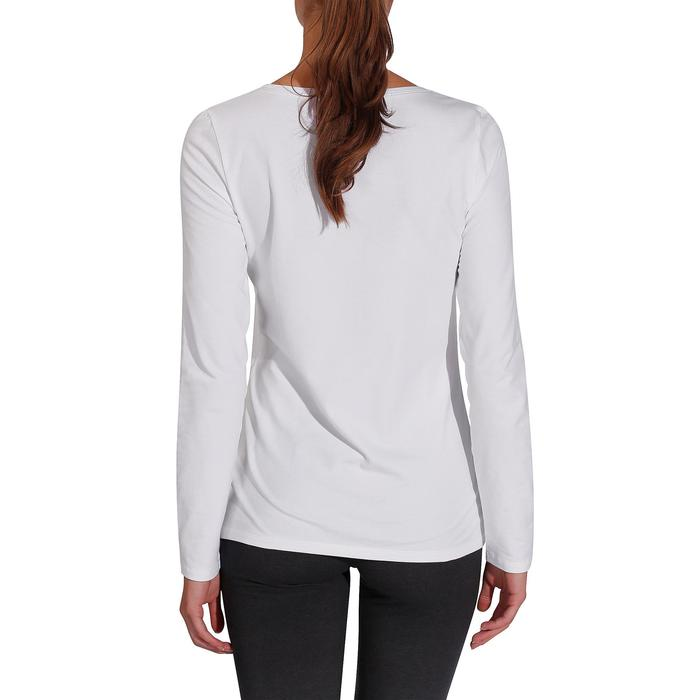 T-Shirt 100 manches longues Gym Stretching femme - 215021