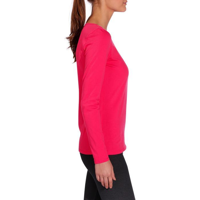T-Shirt 100 manches longues Gym & Pilates femme - 215036
