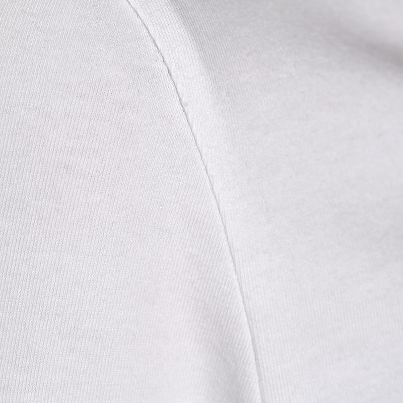 100 Women's Long-Sleeved Stretching T-Shirt - White