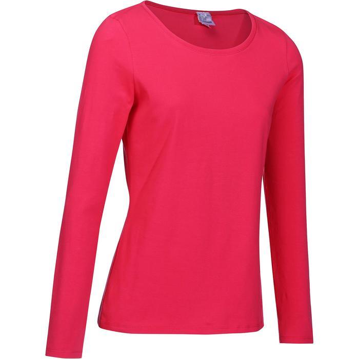 T-Shirt 100 manches longues Gym & Pilates femme - 215038