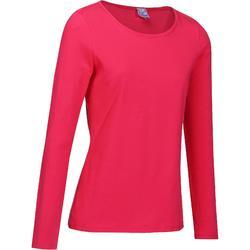 T-Shirt 100 manches longues Gym & Pilates femme