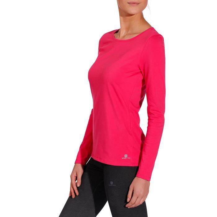 T-Shirt 100 manches longues Gym & Pilates femme - 215040