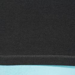 T-shirt lange mouwen gym & pilates dames felroze - 215042