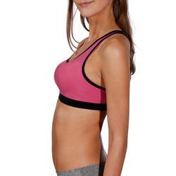 Fitnessbeha Shape+ voor dames gemêleerd - 215249
