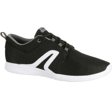 Soft 140 Mesh Men's Fitness Walking Shoes - Black/White