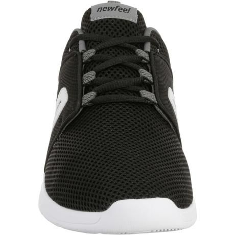 ee829c5c26 Scarpe camminata sportiva uomo SOFT 140 MESH nero-bianco