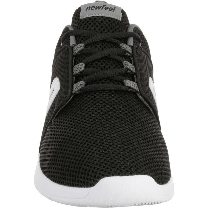 Zapatillas de marcha deportiva para hombre Soft 140 mesh negro / blanco