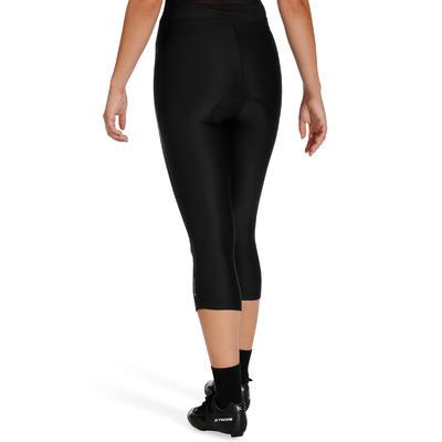 ST100 Women's Mountain Biking Crop Bottoms - Black