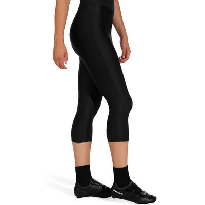 Жіночі легінси велосипедні ST100 - Чорні