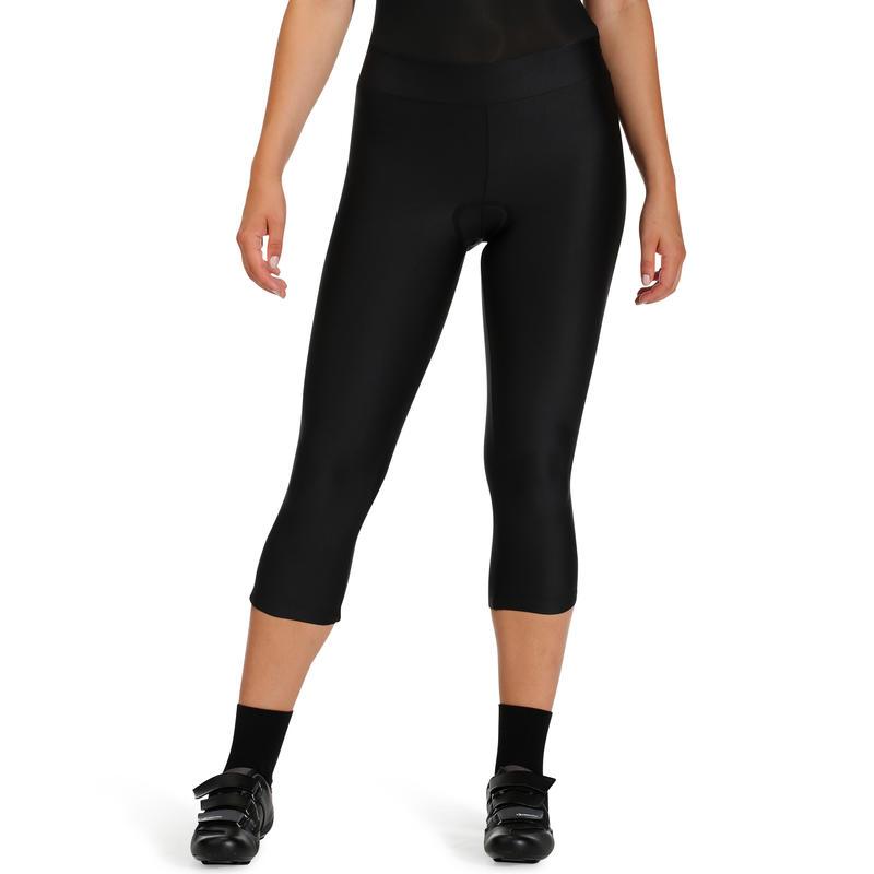 Calzas BTT ST 100 mujer negras