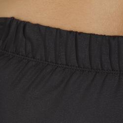 Fietsbroek 100 zonder bretels dames zwart