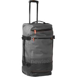 Koffer op wieltjes TR 120 60L grijs / koraal