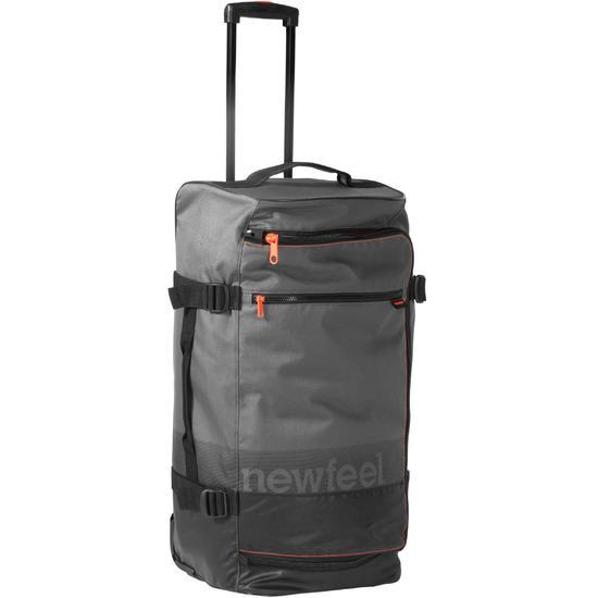Koffer op wieltjes TR 120 60L grijs / koraal - 215812
