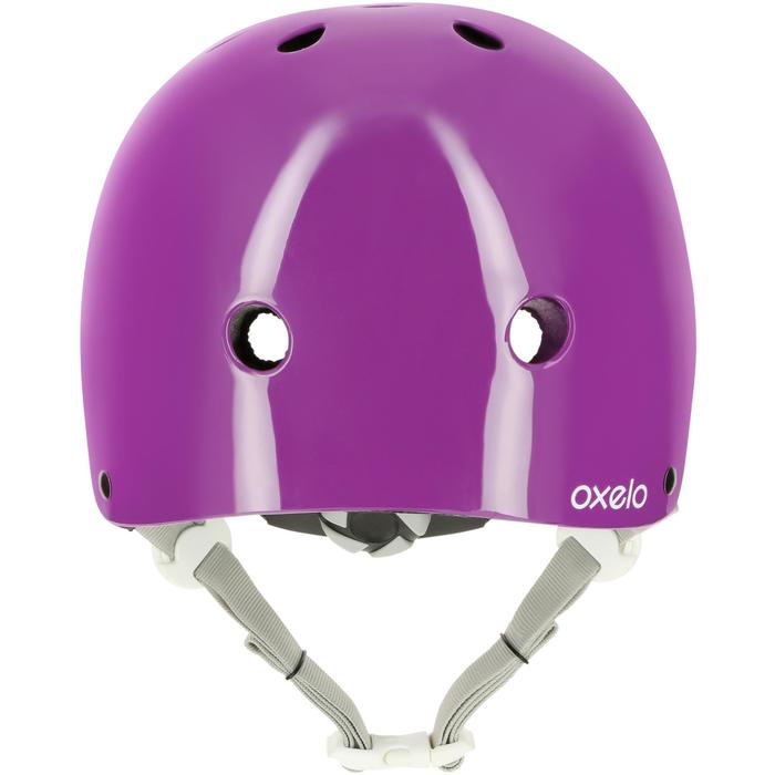 Play 5 Inline Skates Skateboard Scooter Bike Helmet - Purple