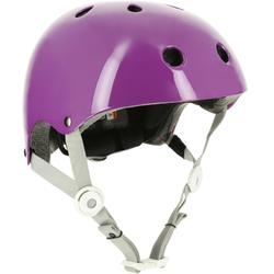Play 5 Inline Skates Skateboard Scooter Bike Helmet - Purple