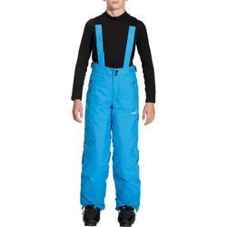 Skihose Piste 500 Kinder blau