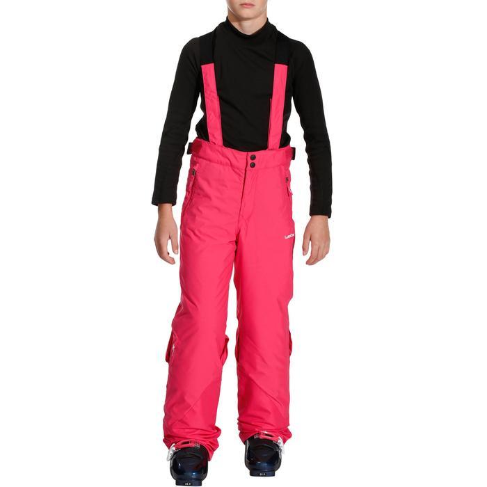 Skibroek voor kinderen SKI-P 500 PNF roze