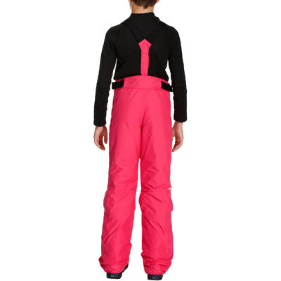 Ski-P 500 PNF Kids' Ski Trousers - Pink