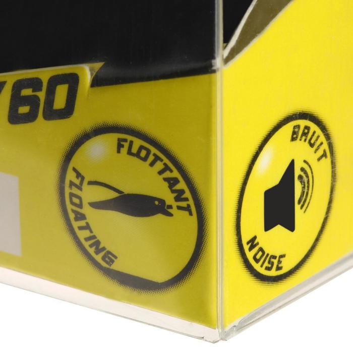 Wobbler Murray 60 Yellow Mat