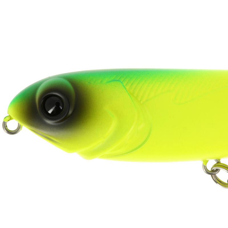 Poisson nageur pêche MURRAY 100 YELLOW MAT